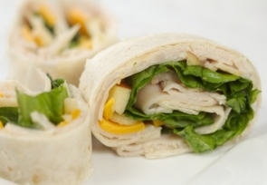 Turkey Apple Cheddar Wrap