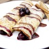 Crepes with Berry Compote