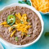 Refried Beans (with a vegan option)