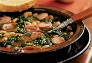 Tuscan Kale and Sausage Soup