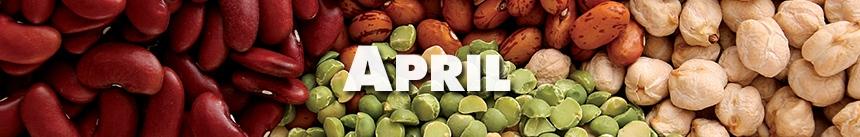 April – Legumes