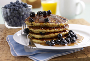 whole grain berry pancakes