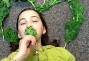 Katie Layton, grade 7