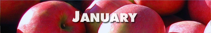 January – Apples