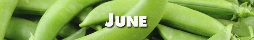 June – Snap Peas