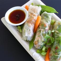 Salad Noodle Wraps