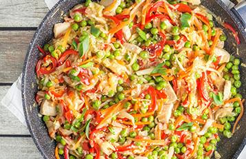 Cabbage & Carrot Stir Fry